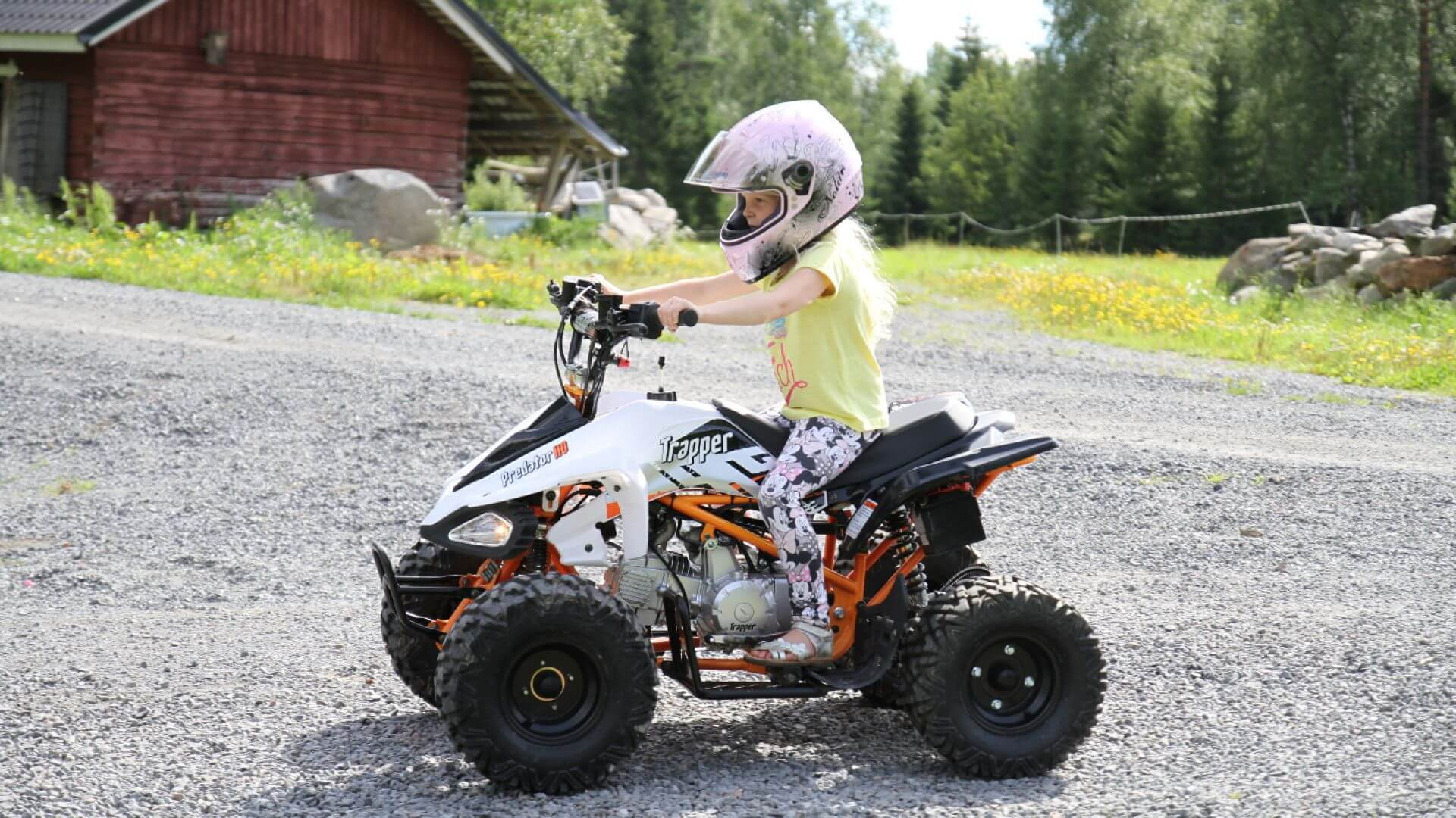 Trapper Cross 110 EFI | Trapper ATVs