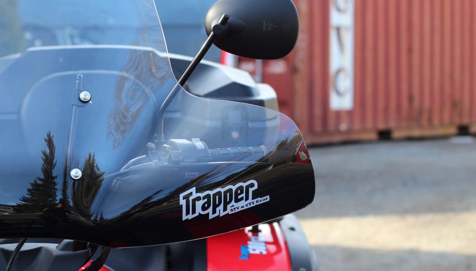 Trapper tuulilasi (ATV)