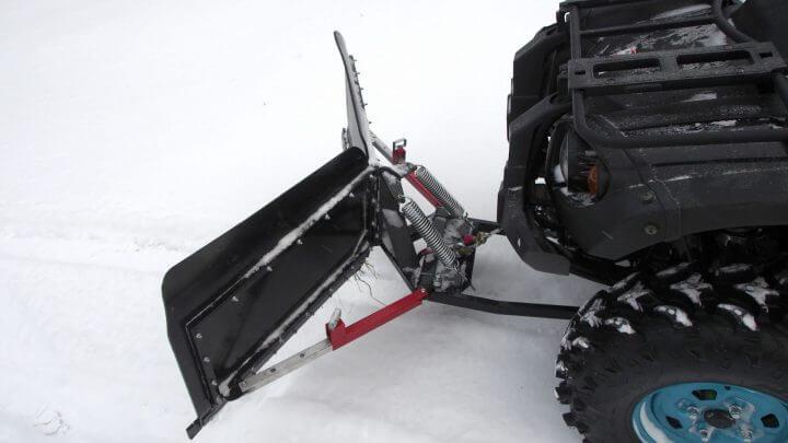 V-snowplough