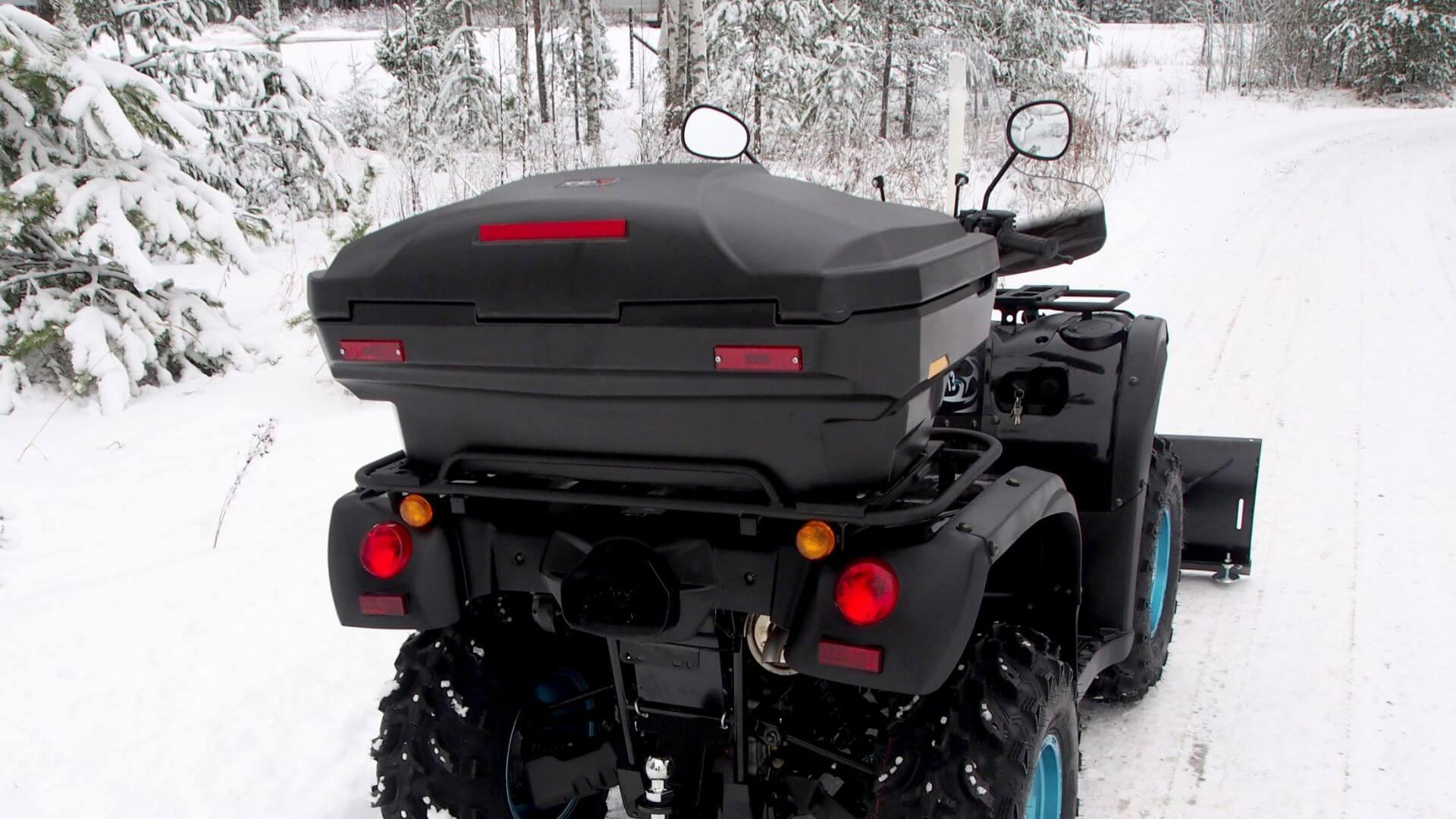 Trapper tavaralaatikko (ATV)