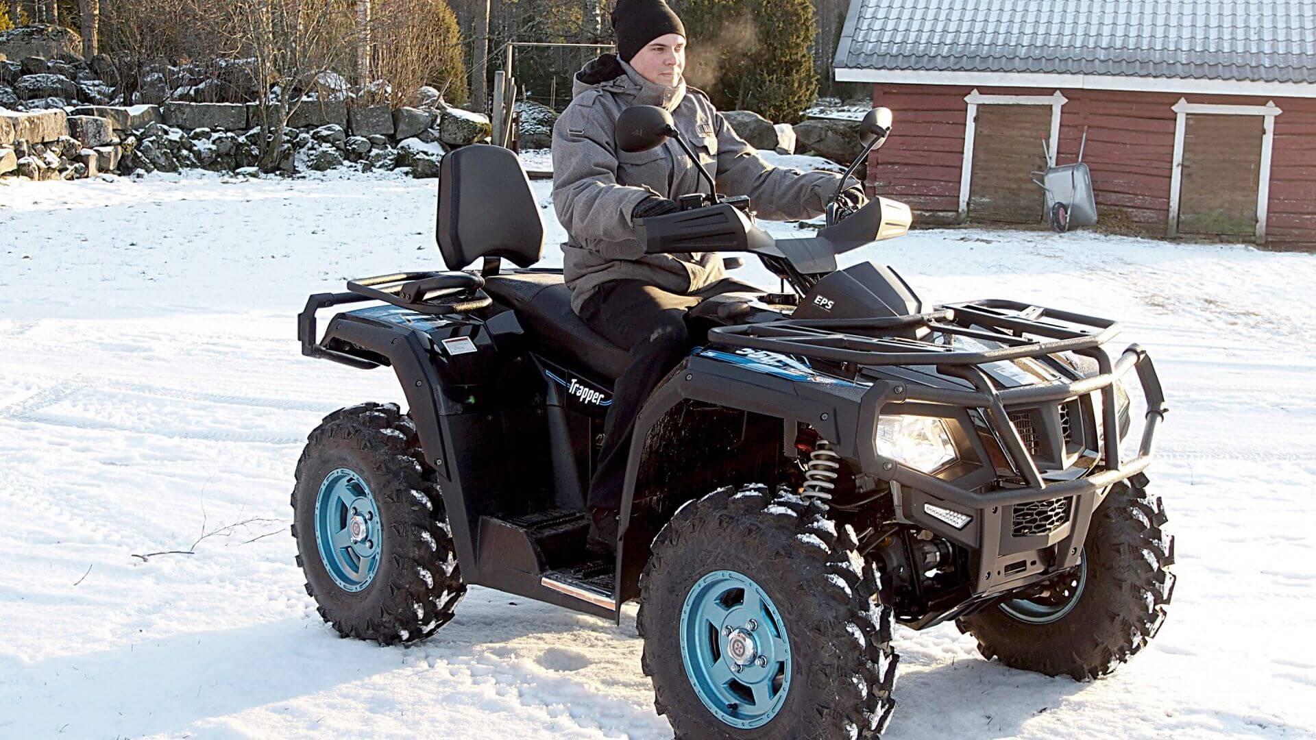 Chaser 550 EFI EPS T3b