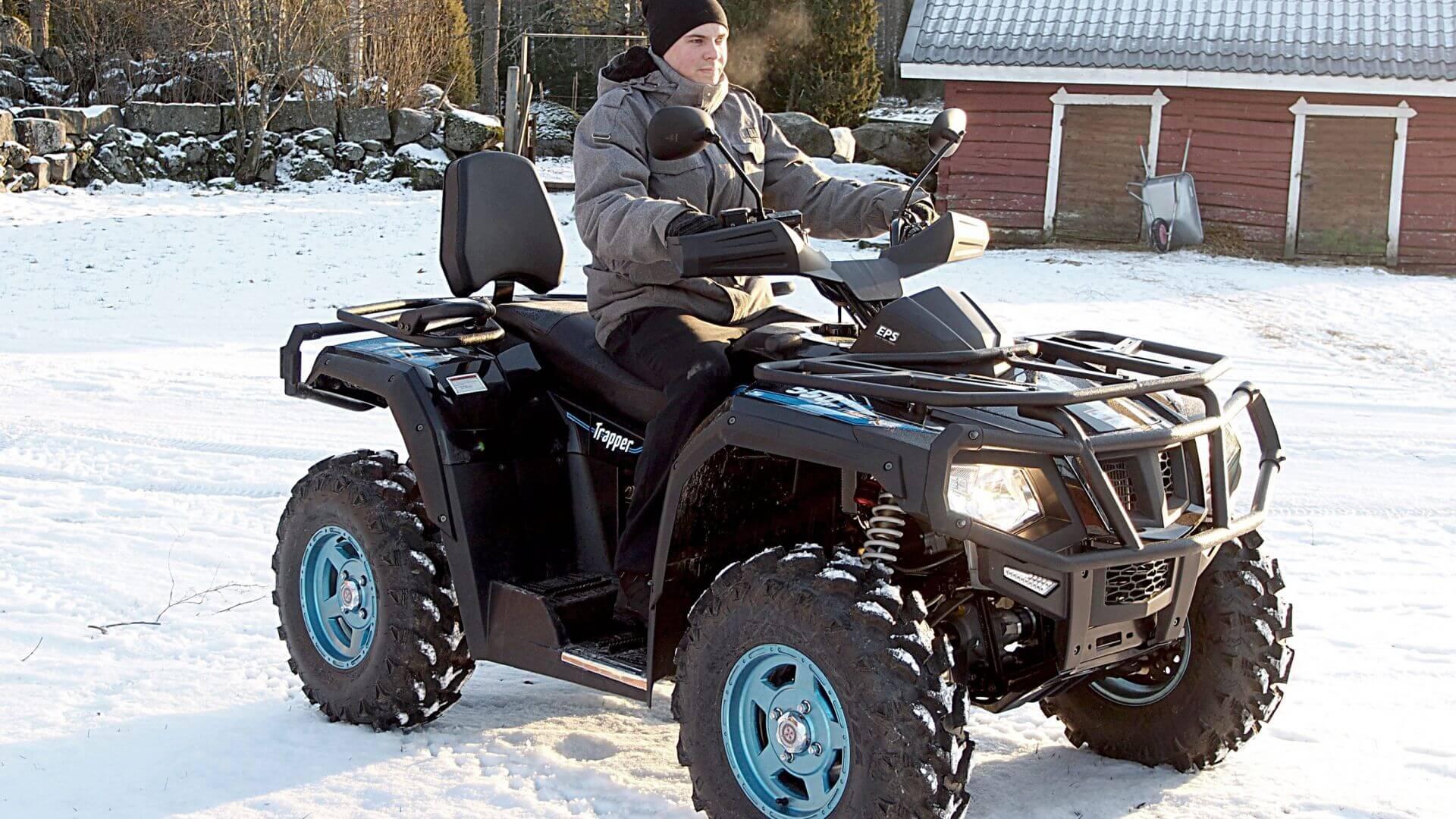 550 Chaser EPS 40 km/h