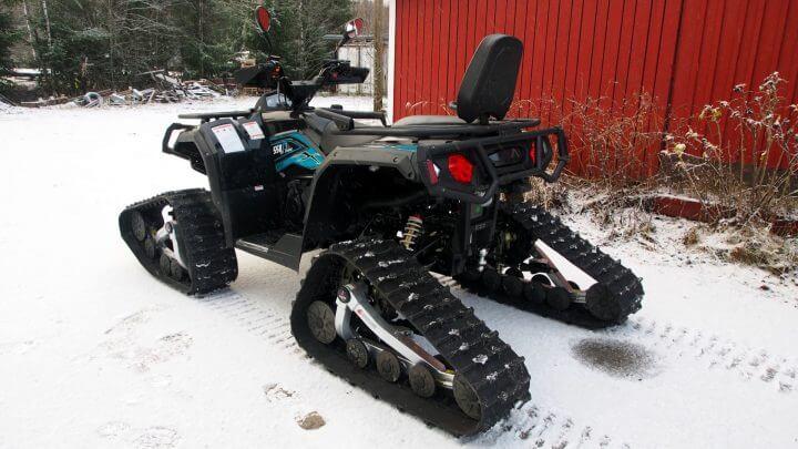 Trapper track system (ATV)
