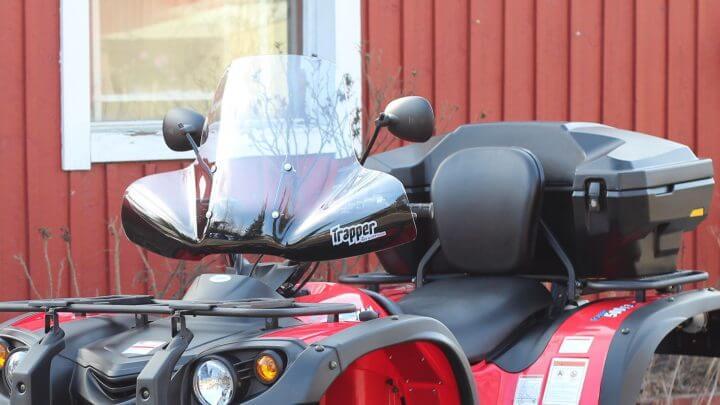 Trapper windshield (ATV)